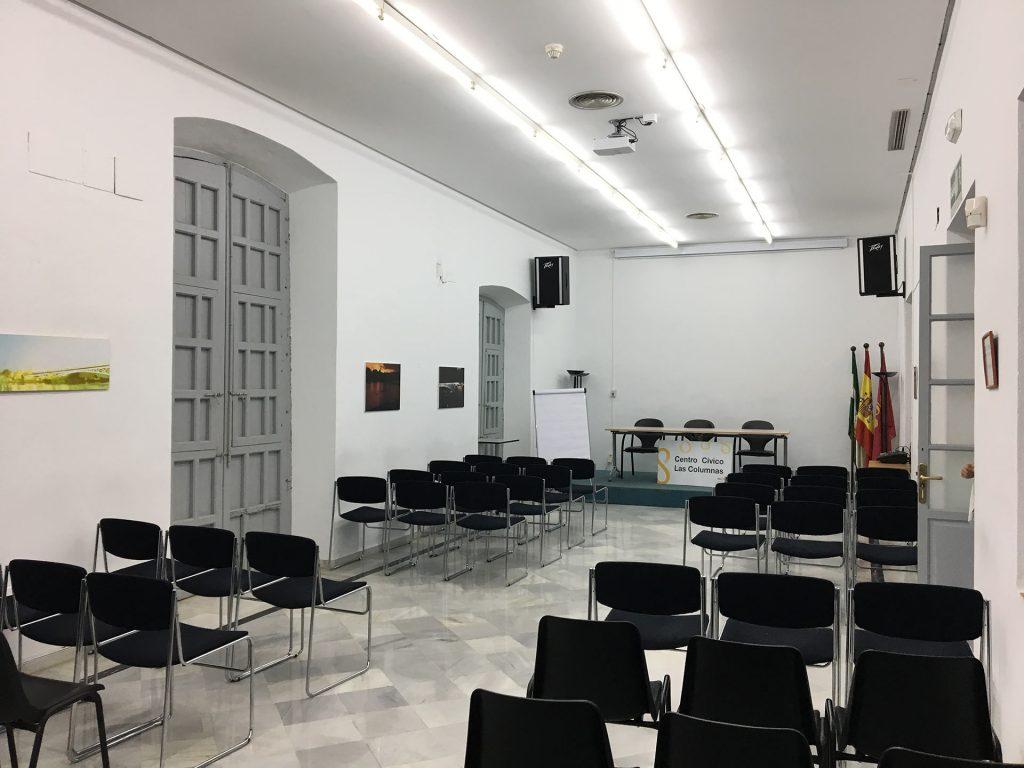Centro Cívico Casa de Las Columnas, Ayuntamiento de Sevilla. Sala Jornadas conferencias Jornadas de Fotografía de Calle.